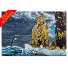 Heavy sea at needle Rock, Fishguard