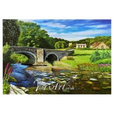 The old stone bridge of Nevern