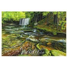 Sgud Yr Eira waterfall, Brecon Beacon