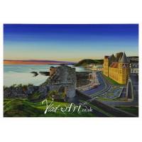 Nightfall at Aberystwyth Castle