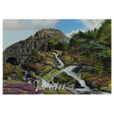 Ogwen falls near Tryfan, snowdonia