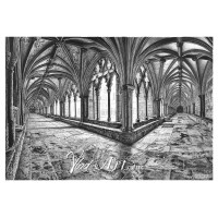 The cloisters of Norwich Cathedral