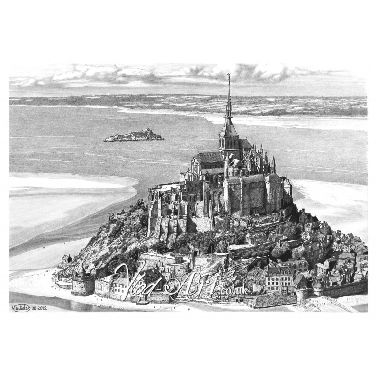 Mount Saint Michel, France
