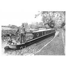 Burneswood canal boat
