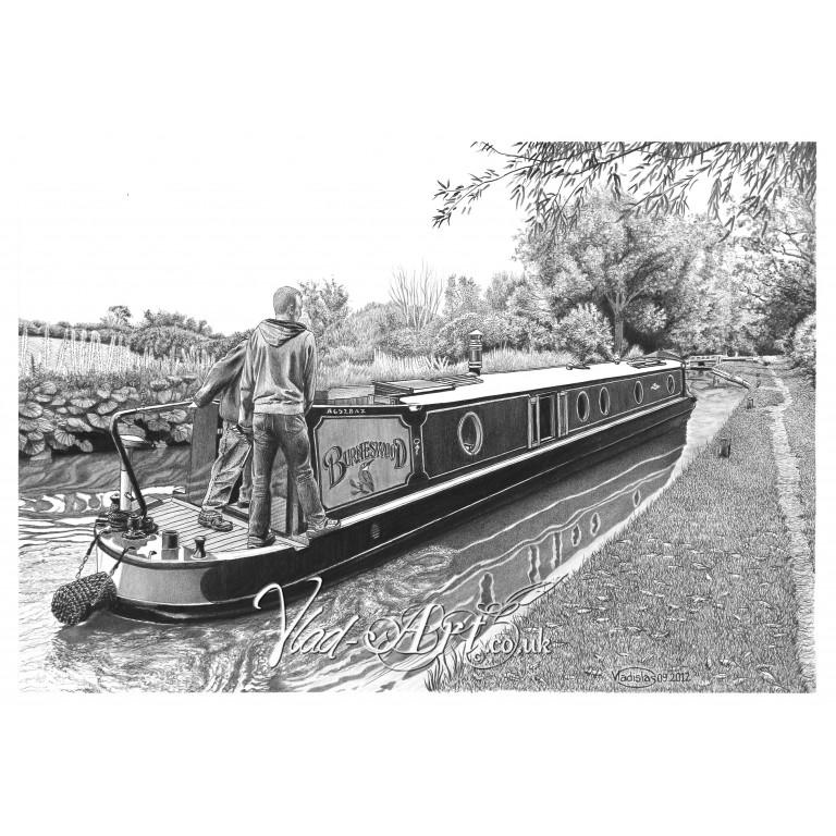 Burneswood canal boat
