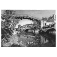 Iron Bridge in Coalbrookdale