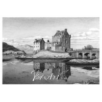 Eilean Donan Castle reflection