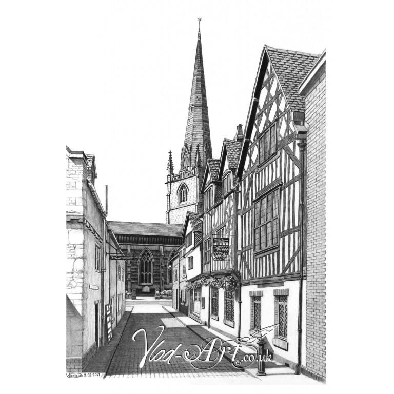 Church Street Shrewsbury